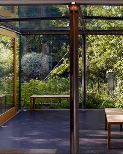 四方形玻璃房